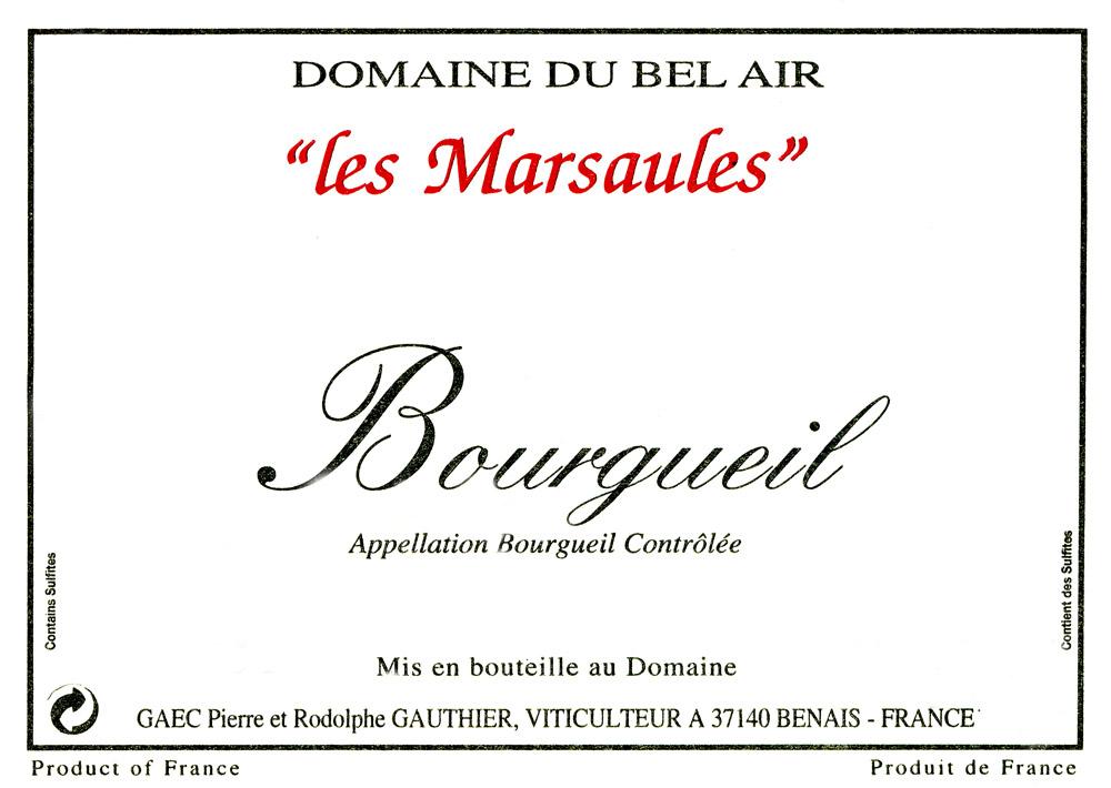 Cuvée les Marsaules-Bourgueil